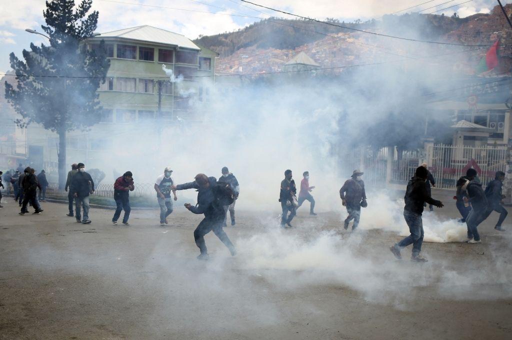 La tensión social ha crecido en los últimos meses en Bolivia mientras se acumulan causas judiciales. Crédito: Télam