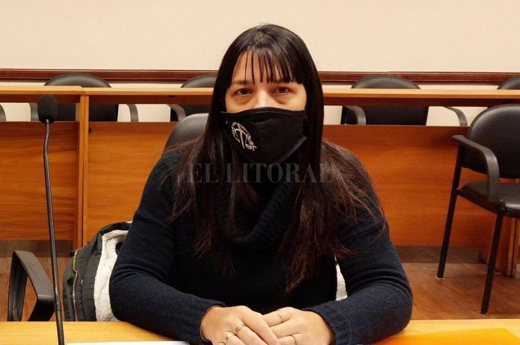 La fiscal Alejandra Del Río Ayala estuvo a cargo de la investigación y representó al MPA en la audiencia. Crédito: El Litoral