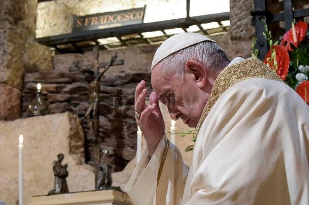 El papa Francisco.  Crédito: Archivo