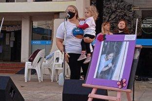 Femicidio de Florencia Gómez en San Jorge: una multitud se unió en un sólo pedido de justicia