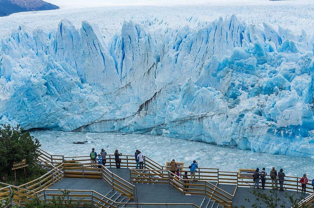 Dentro del país, el destino más elegido por los turistas es la Patagonia.