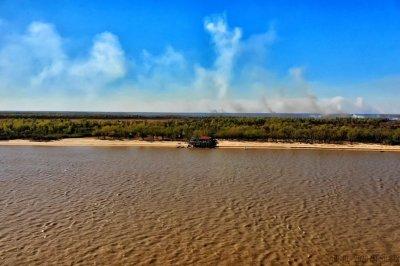 Ambientalistas advierten el avance de un proyecto inmobiliario en una isla santafesina que es Área Natural Protegida