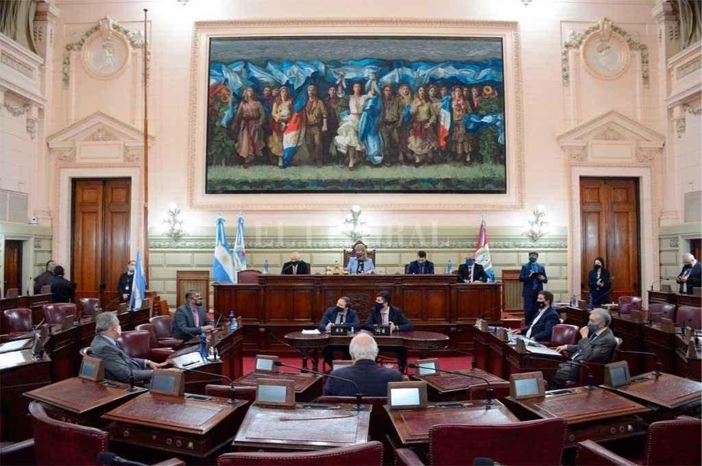 Senado de Santa Fe. Foto:Archivo El Litoral