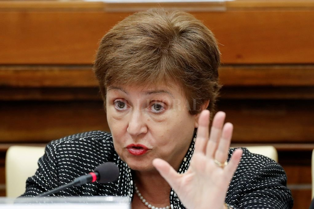 Kristalina Georgieva, presidenta del FMI. Crédito: Reuters