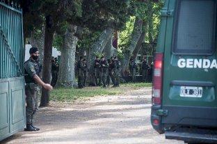 Llegan 575 efectivos de Gendarmería Nacional a Rosario