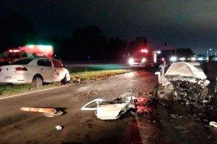 Un muerto tras fuerte choque en la autopista Santa Fe - Rosario -