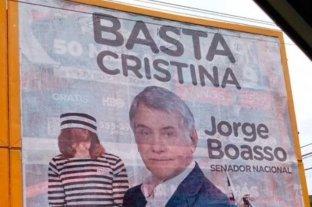 Contigiani se bajó de las elecciones por los polémicos afiches de Boasso -