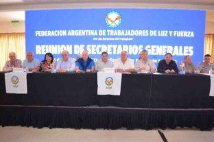 La dirigencia de Luz y Fuerza de todo el país se reunió en Santa Fe