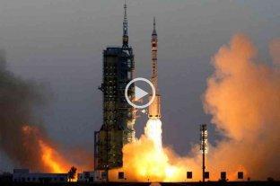 Despegó con éxito la misión espacial tripulada más extensa de China