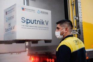 Llegan otras 500 mil dosis del segundo componente de Sputnik V