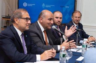 Manzur y Guzmán ratificaron ante inversores que la Argentina honrará sus deudas