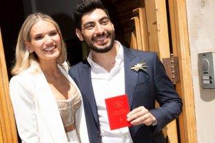 Se casaron Facundo Moyano y Eva Bargiela