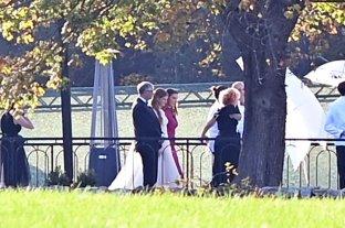 Bill Gates y Melinda French se reencontraron en la boda de su hija