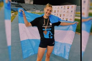 Guillermina Cossio cosechó tres medallas de bronce en el Sudamericano de Guayaquil