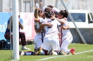 San Lorenzo ganó y es el nuevo líder del Torneo Femenino