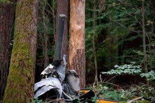 Tragedia en Alemania, tres muertos tras caer un helicóptero