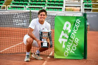 Sebastián Báez se quedó con el Challenger de Santiago de Chile
