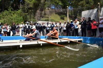 Rowing, inauguración y recuerdo