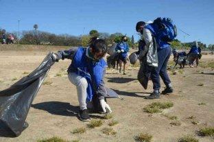 Se recolectaron 900 kg de residuos en la costanera norte de Rosario