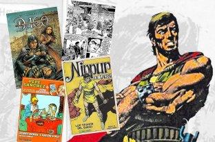 Murió el escritor Robin Wood, creador de personajes como Nippur de Lagash, Dago y Pepe Sánchez -