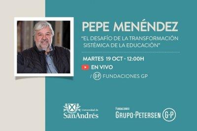 Conferencia gratuita de Pepe Menéndez