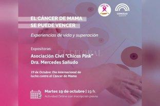 """""""El cáncer de mama se puede vencer"""": participá del conversatorio"""