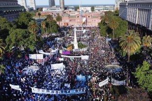 17 de Octubre: hubo duras críticas a Macri y también al gobierno de Alberto Fernández