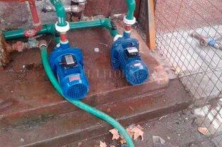 Siguen los robos de bombas  de agua en casas de la costa