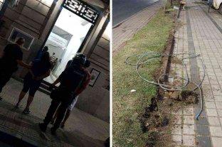 Detienen a una pareja que  robaba cables subterráneos