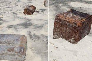 Extraño hallazgo en playas de Brasil: llegaron flotando cajas de los nazis