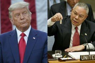 Donald Trump cuestionó al fallecido Colin Powell