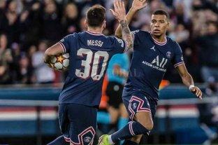PSG venció al Leipzig con goles de Lionel Messi y Kylian Mbappé