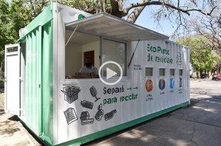 La Municipalidad instaló el primer ECO Punto de Reciclado en la ciudad