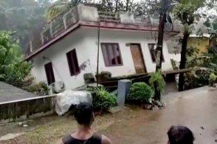 En India y Nepal hay más de 100 muertos debido a las intensas lluvias