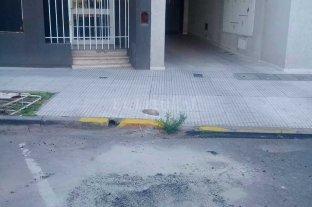 """Repararon la calzada y quitaron un """"corralito"""" en el centro de la ciudad de Santa Fe"""