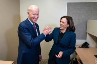 Joe Biden realizó un emotivo gesto hacia Kamala Harris por su cumpleaños