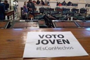 En Corrientes el voto joven obtuvo media sanción en la Cámara de Diputados