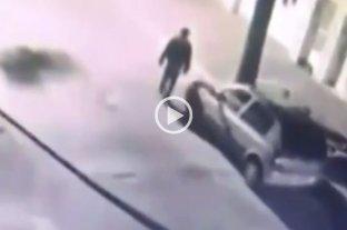 Video: el momento en el que asesinaron al arquitecto en Rosario -