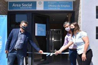 Inauguraron una Oficina de Empleo en Pilar