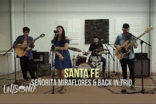 """Srta. Miraflores & Back in Trio en """"Unísono"""""""