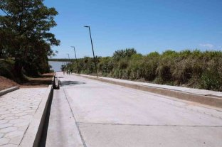 Recuperan la bajada San Luis en la costanera de San Lorenzo