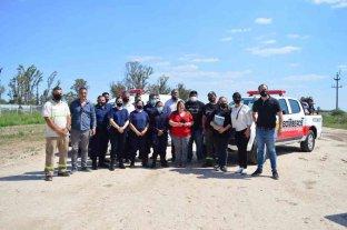 Sauce Viejo: la comuna cedió un terreno a los bomberos para construir un nuevo cuartel