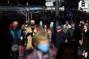 Reino Unido registró más de 50.000 contagios diarios por primera vez desde julio
