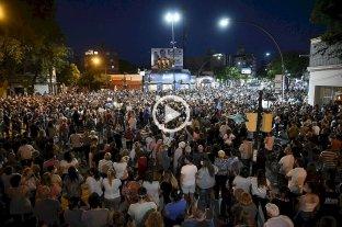 """Crimen del arquitecto: una multitud pidió más seguridad y """"que se vayan todos"""" -"""