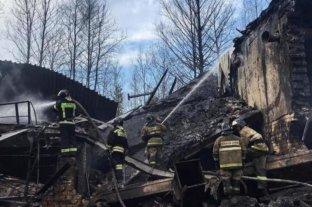 Video: la explosión de una fábrica de pólvora en Rusia deja al menos 16 muertos