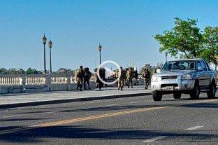 Sorpresa en la Costanera de Santa Fe por la presencia de soldados -