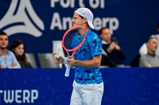 Schwartzman va en busca de la semifinal en Amberes