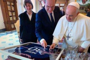 """El Papa elogió a Messi: """"Nunca se te subieron los humos"""""""