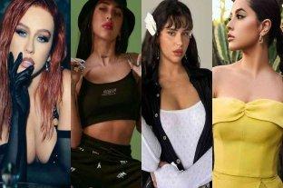Christina Aguilera estrenó su nueva canción junto a la santafesina Nicki Nicole, Becky G, y Nathy Peluso