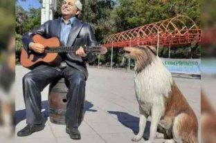Insólitas estatuas de Alberto Fernández y Dylan en Formosa generaron duras críticas en las redes